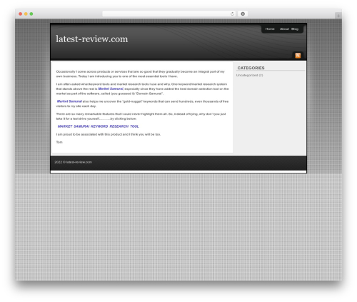 Template WordPress Affiliate Internet Marketing theme - latest-review.com