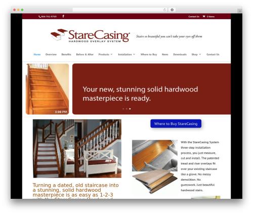 Template WordPress Divi - starecasing.com