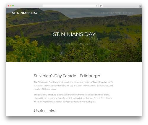TheFour Lite WordPress theme free download - stniniansday.co.uk