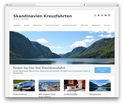 Theme WordPress Catch Base Pro - skandinavien-kreuzfahrten.com