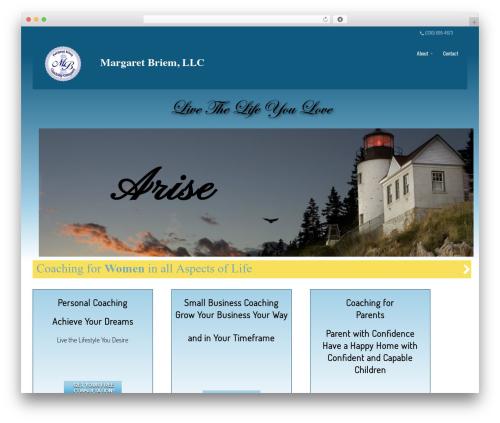 Theme WordPress Divi - livethelifeyoulove.com