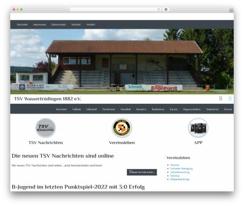 Almasi theme WordPress - srhs.de