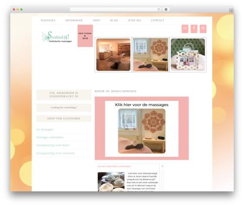 Blossom Theme massage WordPress theme - stralendjij.nl