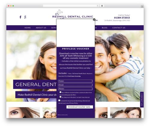 DentalCMO Build (2013) best WordPress theme - stourbridgecosmetic.dentist