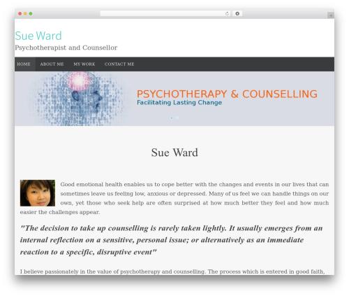 Nirvana WordPress template free download - sueward.com.au