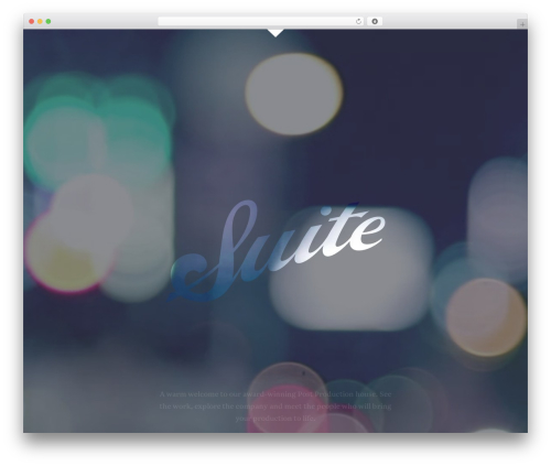 suite business WordPress theme - suitetv.com