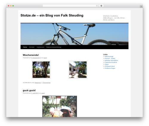 Twenty Ten WordPress template free download - stotze.de