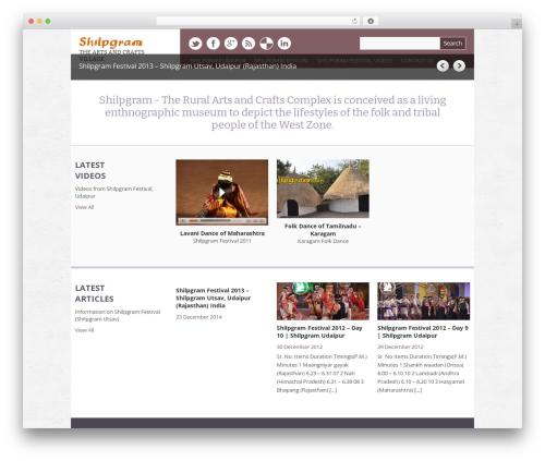 Yasmin best WordPress video theme - shilpgram.com