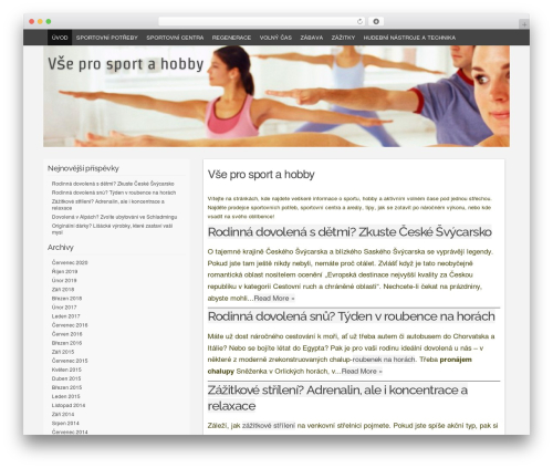Codium Grid template WordPress free - sport-hobby.cz