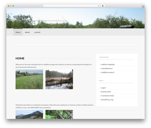 Coller template WordPress free - solohawk.com
