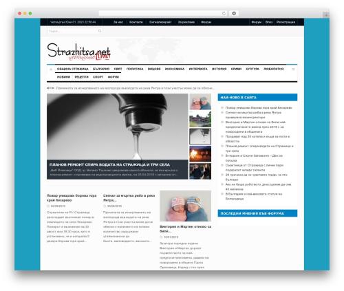 Prime Time WordPress template - strazhitsa.net