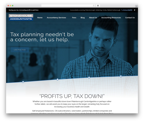 rosetta WordPress theme - stonehouseaccountants.com