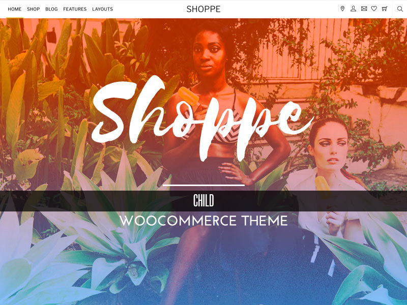 Shoppe Child WordPress ecommerce theme