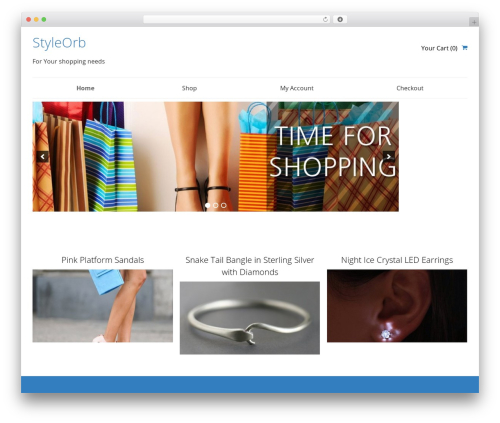 SmartShop WordPress shopping theme - styleorb.com