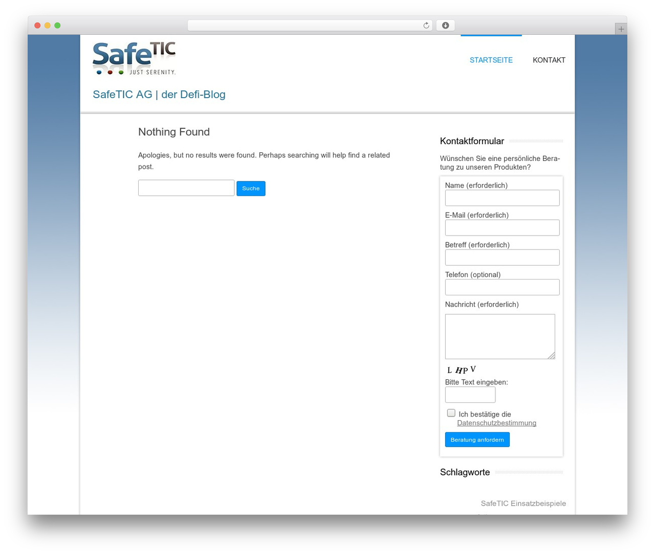 Twenty Twelve WordPress blog theme - safetic-ag-defibrillator.de