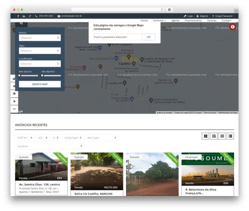 WordPress theme Pointfinder - spni.com.br