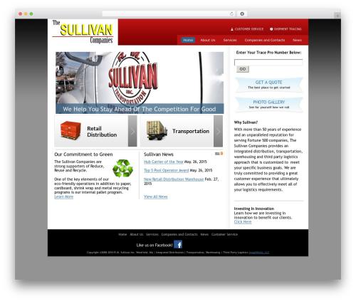 WordPress theme Sullivan - sulco.com