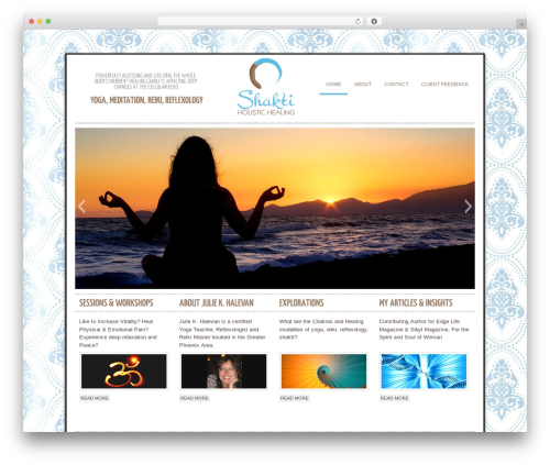 WP theme cleancorp - shakti-holistic-healing.com