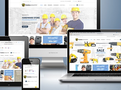 456Industry v1.5 WordPress shop theme