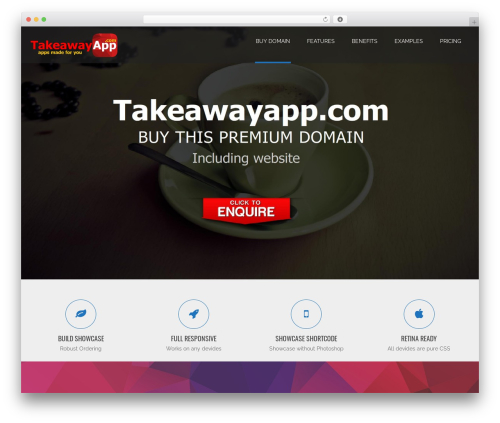 Applay WordPress restaurant theme - takeawayapp.com