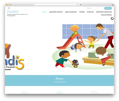 Ares template WordPress free - fundacionfundis.org
