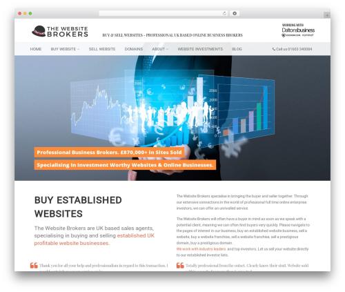 AutoStars theme WordPress - thewebsitebrokers.co.uk