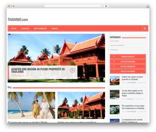 Best WordPress template Resolution - thaimmo.com