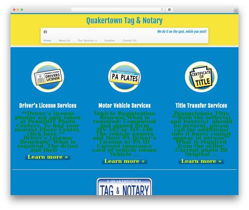 Customizr free WordPress theme - tagandnotary.com