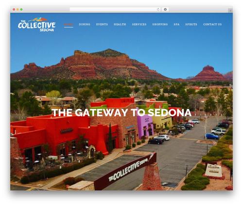 Edena WordPress theme - thecollectivesedona.com