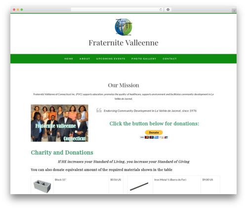 Edge premium WordPress theme - fvofct.org