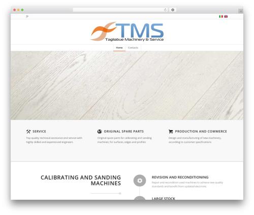 Enfold WordPress page template - tagliabue.biz
