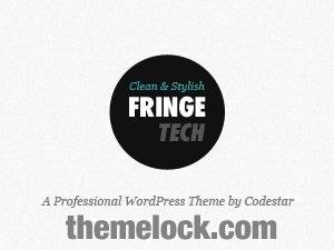 Fringe Tech WordPress Theme (shared on themelock.com) WordPress theme