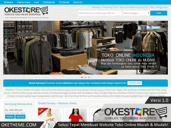 OkeStore best WooCommerce theme