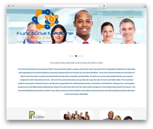 Optimizer PRO WordPress website template - functionalmedgroup.org