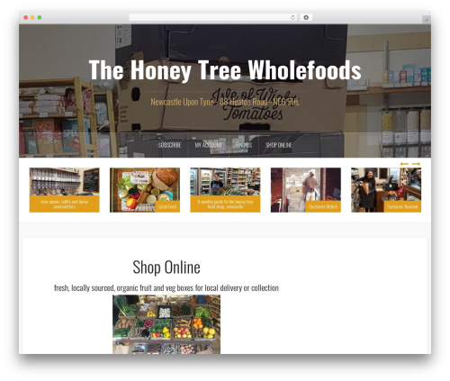 Oria WP template - thehoneytree.org