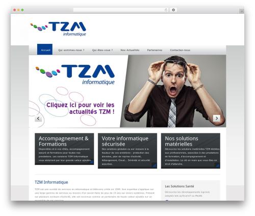 Quickhost theme WordPress - tzm.fr