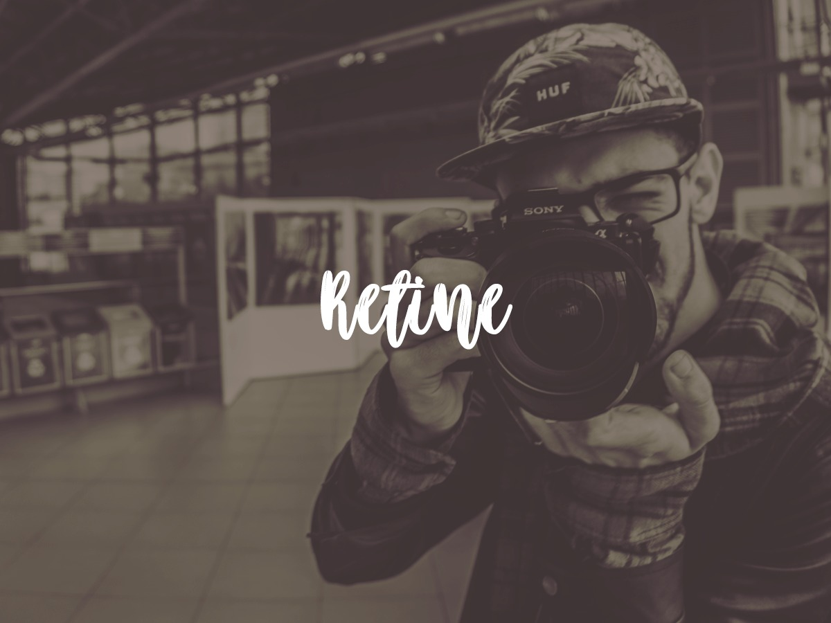 Retine WordPress theme image