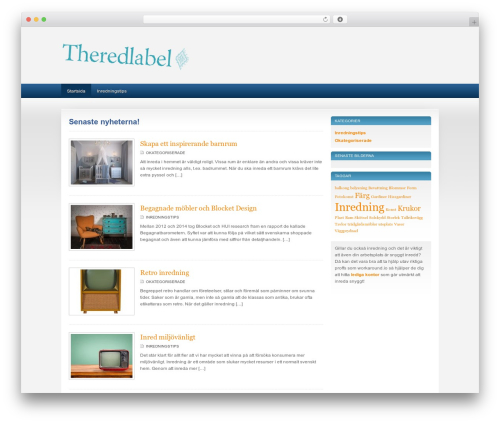 SportPress theme WordPress - theredlabel.se