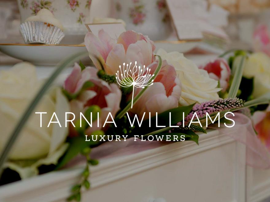 Tarnia Williams - Luxury Flowers for Weddings WordPress wedding theme