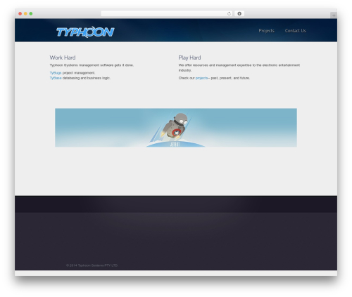 Template WordPress Envision Child - typhoonsystems.com.au