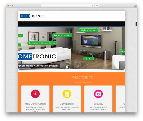 Theme WordPress alterna9 (shared on wplocker.com) - techtronic.co.in