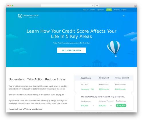 Free WordPress Meks Smart Social Widget plugin - thecreditsolutionprogram.com