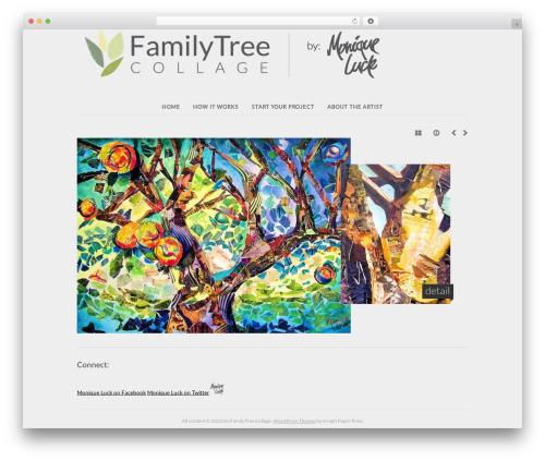 WordPress template base - familytree.moniqueluck.com