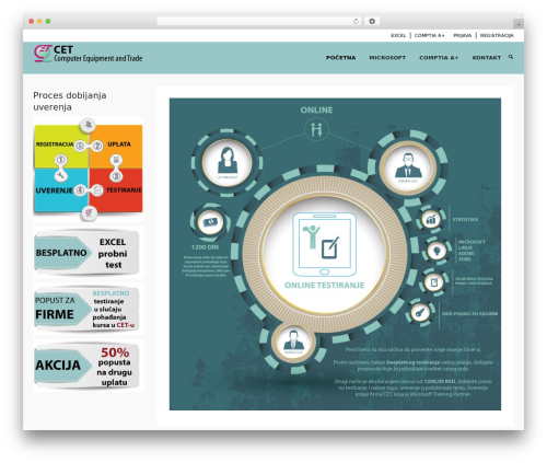 WordPress vibe-course-module plugin - testiranje.cet.rs