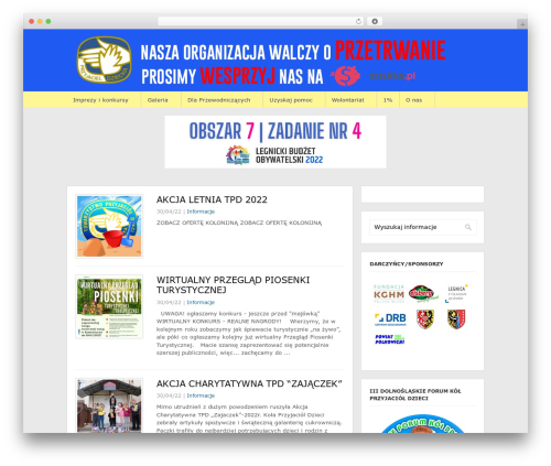 WPTuts WordPress page template - tpd.legnica.pl