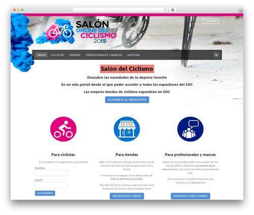 Best WordPress theme Makery - salondelciclismo.com