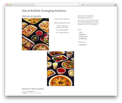 Carrington Text best WordPress theme - sarpacks.com