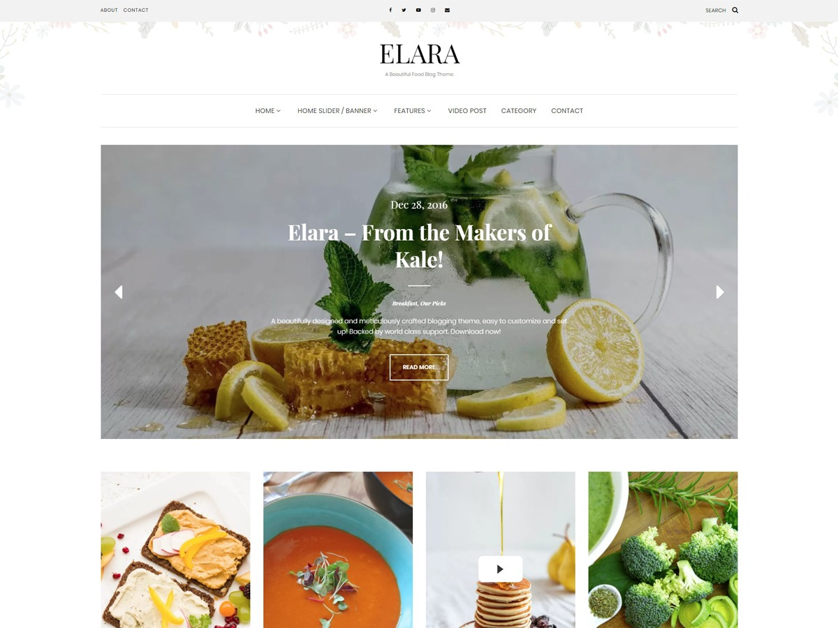 Theme WordPress Elara Child