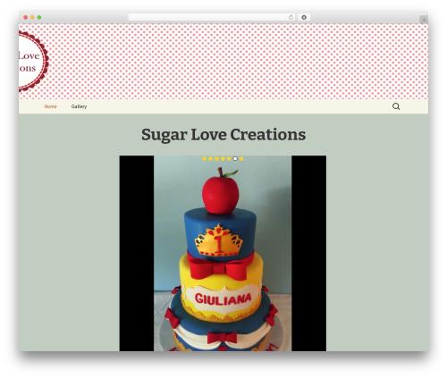 Twenty Thirteen best free WordPress theme - sugarlovecreations.com