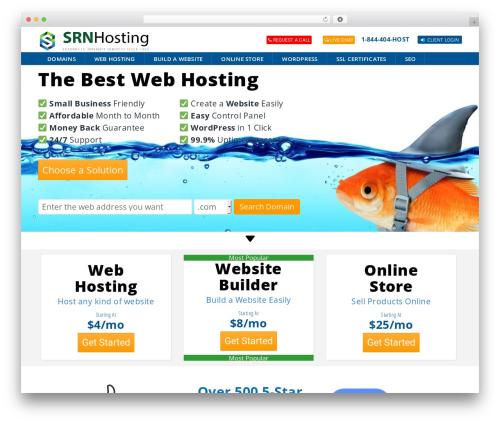 WP theme ArkaHost - srnhosting.net